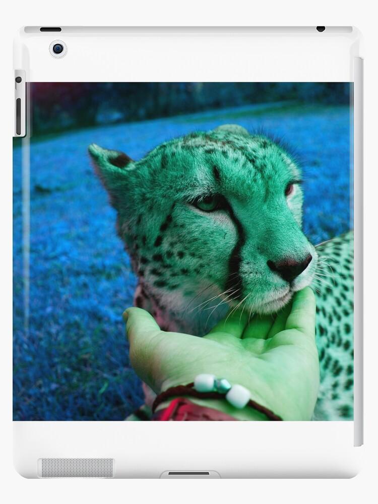 Psychedelic Cheetah  by Huddy Morgan