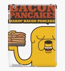 Jake The Dog - Adventure Time - Making Bacon Pancakes iPad Case/Skin