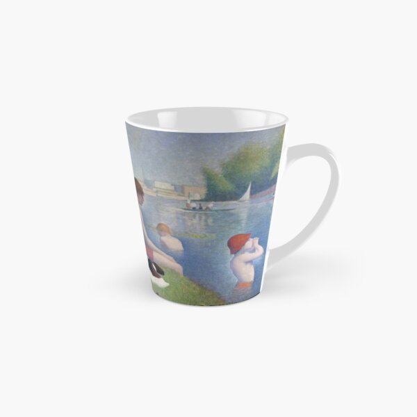 Bathers at Asnieres by Georges Seurat Tall Mug