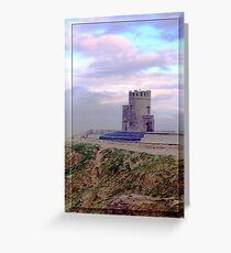 Look out at Cliffs of Moher Greeting Card