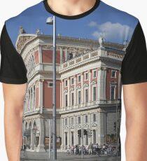 Musikverein, Vienna Austria Graphic T-Shirt