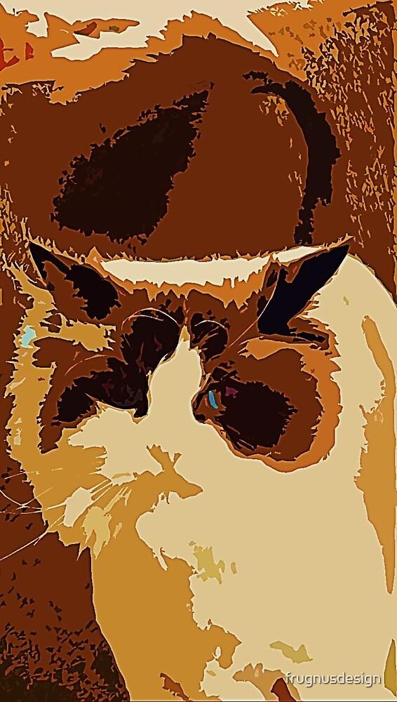Greta the Cat by frugnusdesign