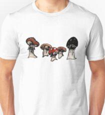 Toadstools on Parade Unisex T-Shirt