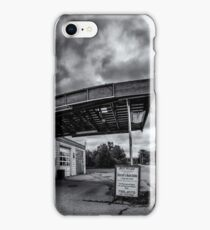 Old Auto Garage in Ellershouse, Nova Scotia iPhone Case/Skin