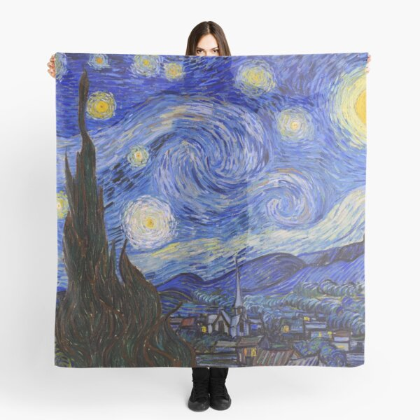The Starry Night by Vincent Van Gogh Scarf