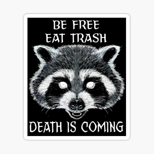 Trash Panda Meme Sticker