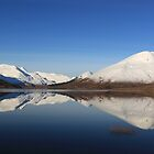 Reflections in Loch Cluanie 2 by beavo