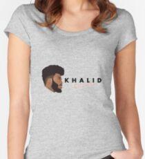 Khalid American Teen Women's Fitted Scoop T-Shirt