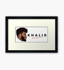 Khalid American Teen Framed Print