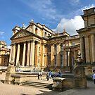 UK - Woodstock - Blenheim Palace - courtyard by Ren Provo