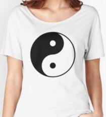 Yin Yang Symbol Women's Relaxed Fit T-Shirt