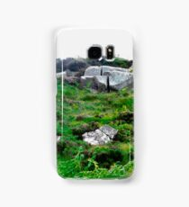 Irish boulders, Donegal, Ireland Samsung Galaxy Case/Skin