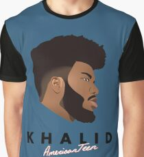 Khalid American Teen Graphic T-Shirt