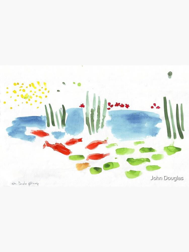 Koi Pond by JohnDouglas