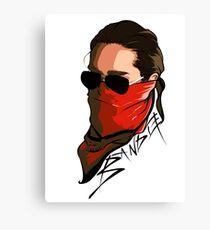 Bandit - TK Canvas Print