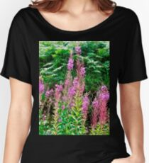 Fireweed in Donegal, Ireland Women's Relaxed Fit T-Shirt