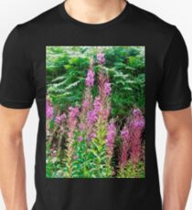 Fireweed in Donegal, Ireland Unisex T-Shirt