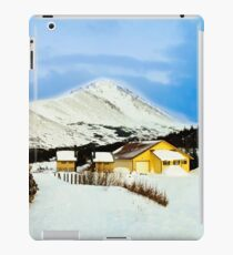 Mountain top cabin iPad Case/Skin