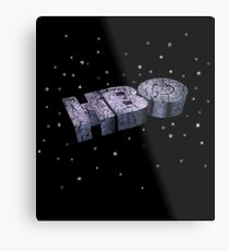 Retro HBO logo Metal Print