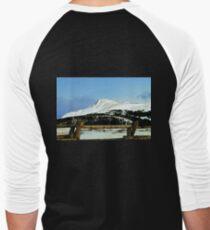 Snowy mountain top Men's Baseball ¾ T-Shirt