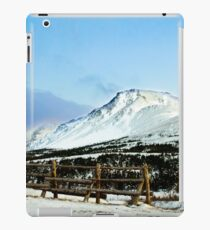 Flat top mountain iPad Case/Skin