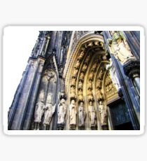 Gothic Chapel  Sticker