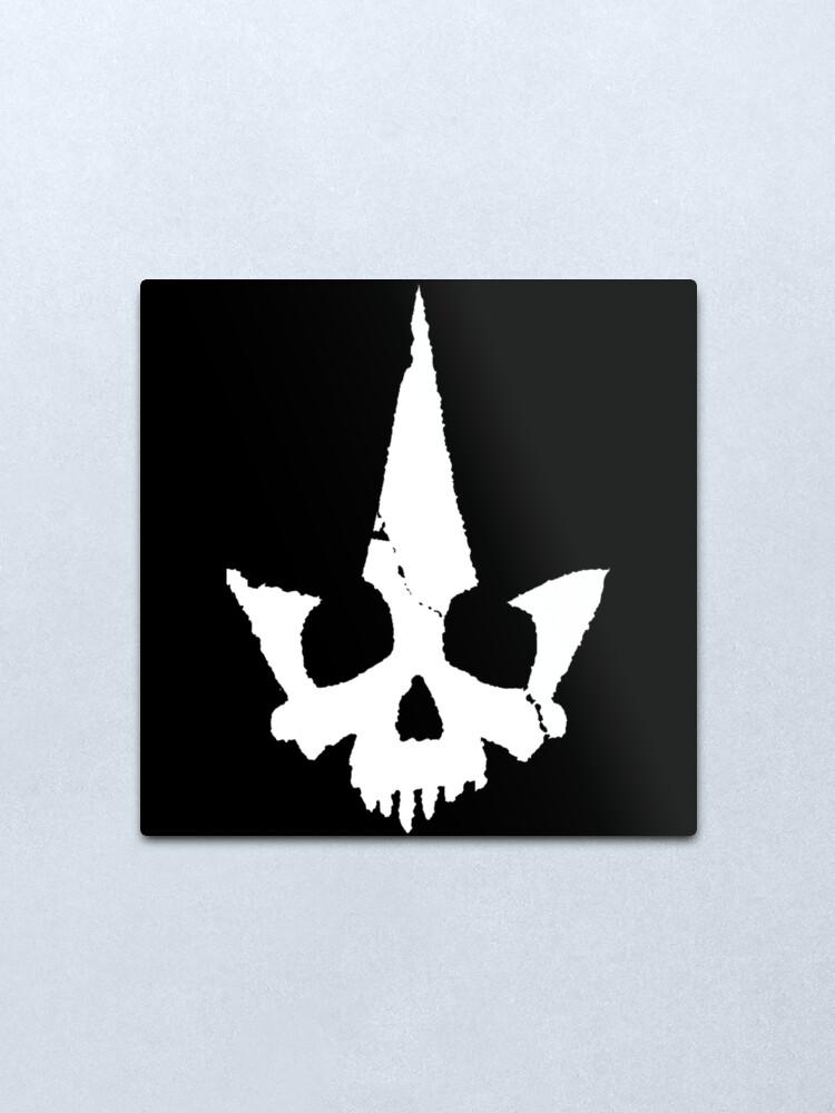 Alternate view of Tyranny Unmasked Logo Metal Print