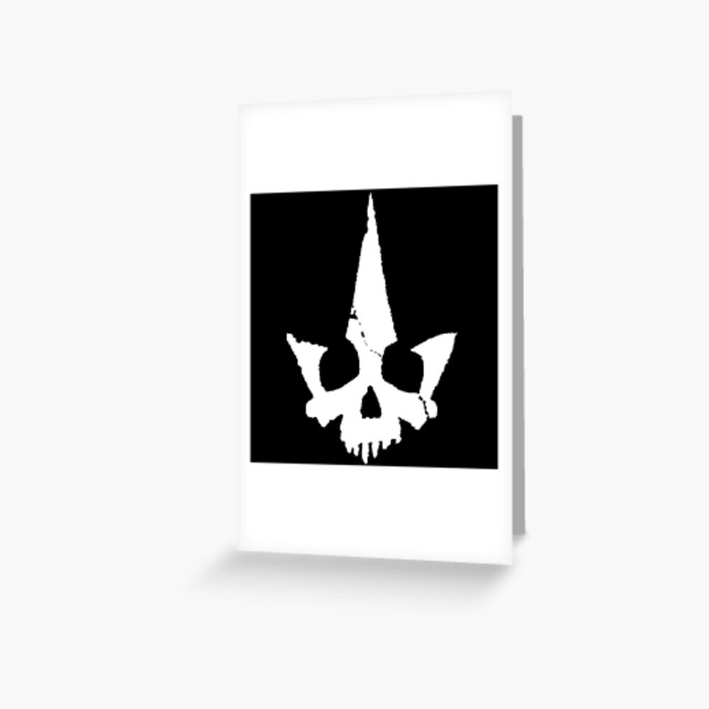 Tyranny Unmasked Logo Greeting Card