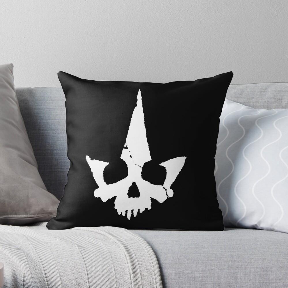 Tyranny Unmasked Logo Throw Pillow