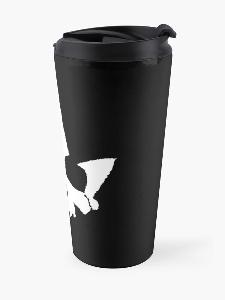 Alternate view of Tyranny Unmasked Logo Travel Mug