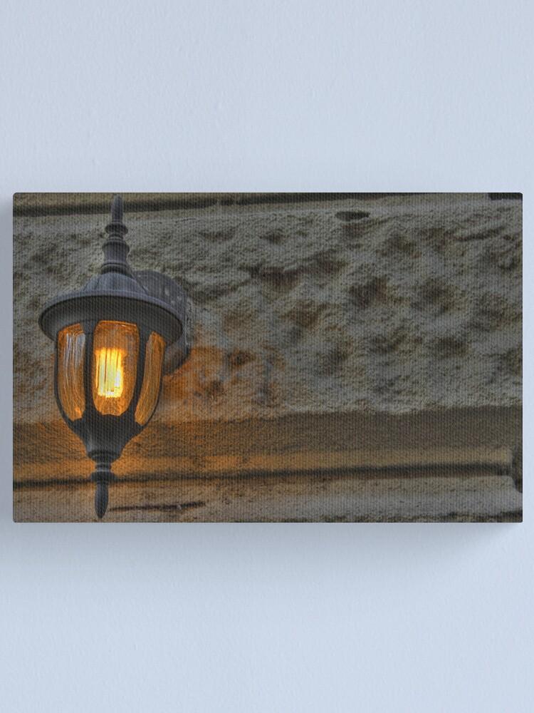 Alternate view of Orange Light Canvas Print
