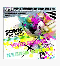 ViViD SOUND X HYBRiD COLORS Photographic Print