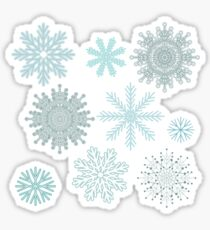 Snowflakes Sticker