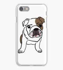 English Bulldog Vector Illustration iPhone Case/Skin