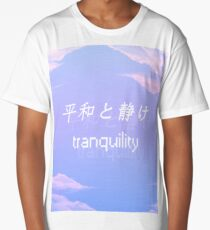 Peace and Serenity (Tranquil) Long T-Shirt