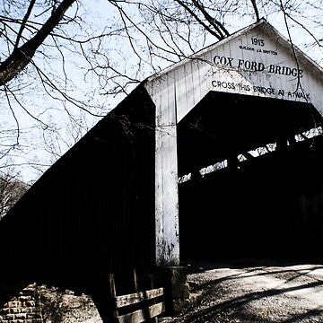 Cox Ford Covered Bridge by Logan5150