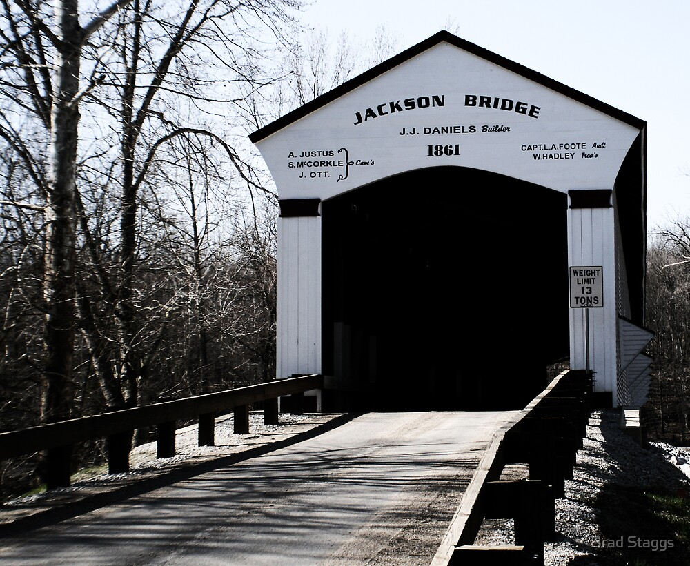 Jackson Covered Bridge by Brad Staggs