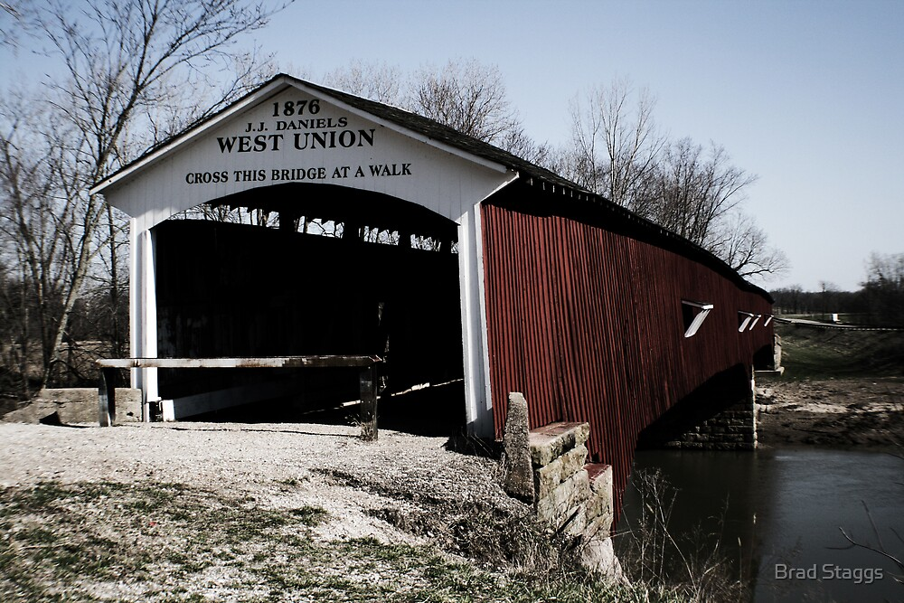 West Union Covered Bridge by Brad Staggs