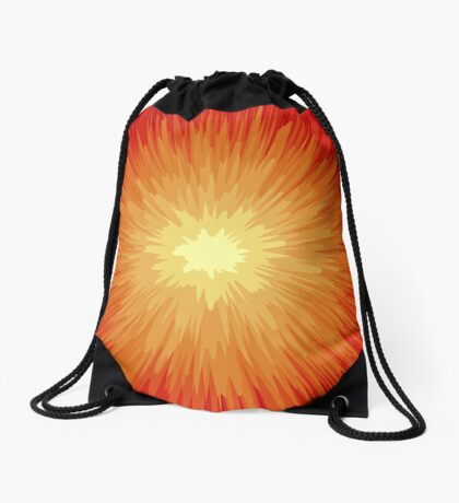 NDVH Circle Eight Drawstring Bag