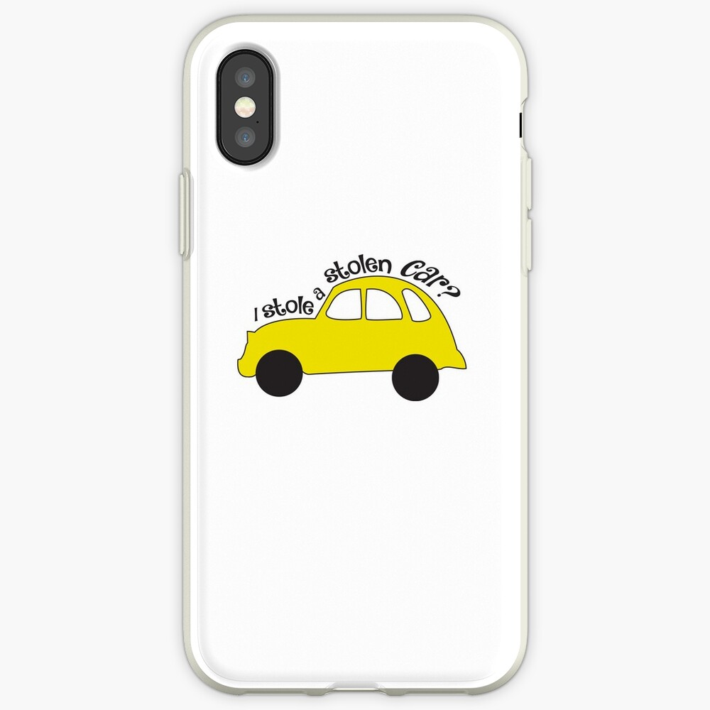 Neal & Emma (Swanfire) - I stole a stolen car? (Once Upon A time) | iPhone  Case & Cover