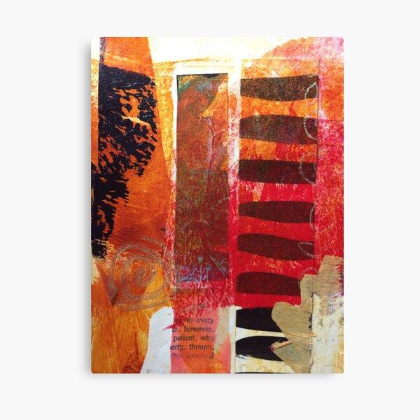 Collage Bits Canvas Print