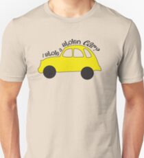 Neal & Emma (Swanfire) - I stole a stolen car? (Once Upon A time) Unisex T-Shirt