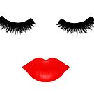 Lips and Lashes by julieerindesign