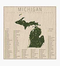 Lámina fotográfica Parques de Michigan