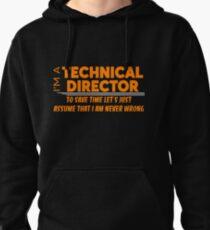 TECHNICAL DIRECTOR Pullover Hoodie