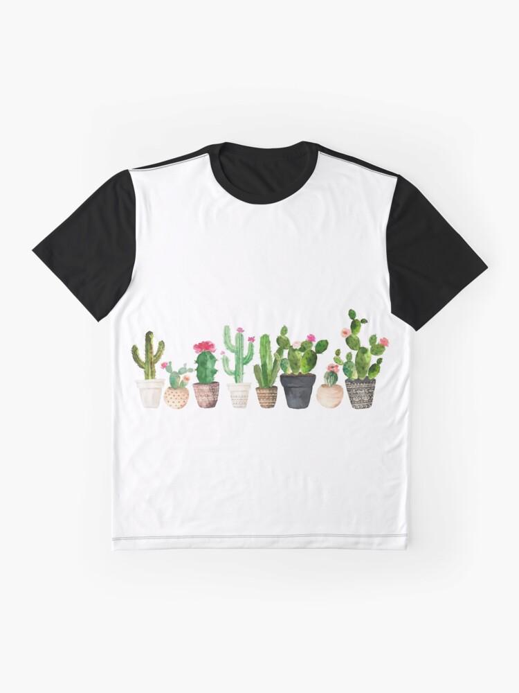Alternate view of Cactus Graphic T-Shirt