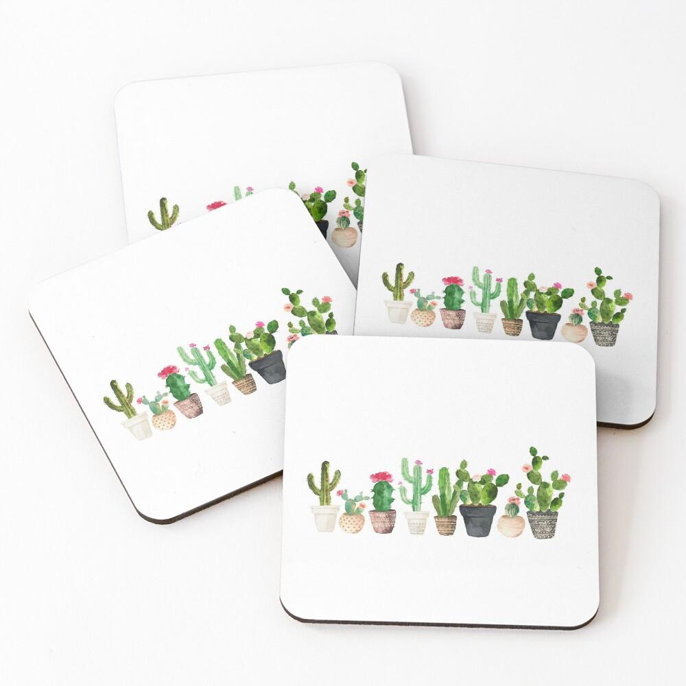 Cactus Coasters (Set of 4)