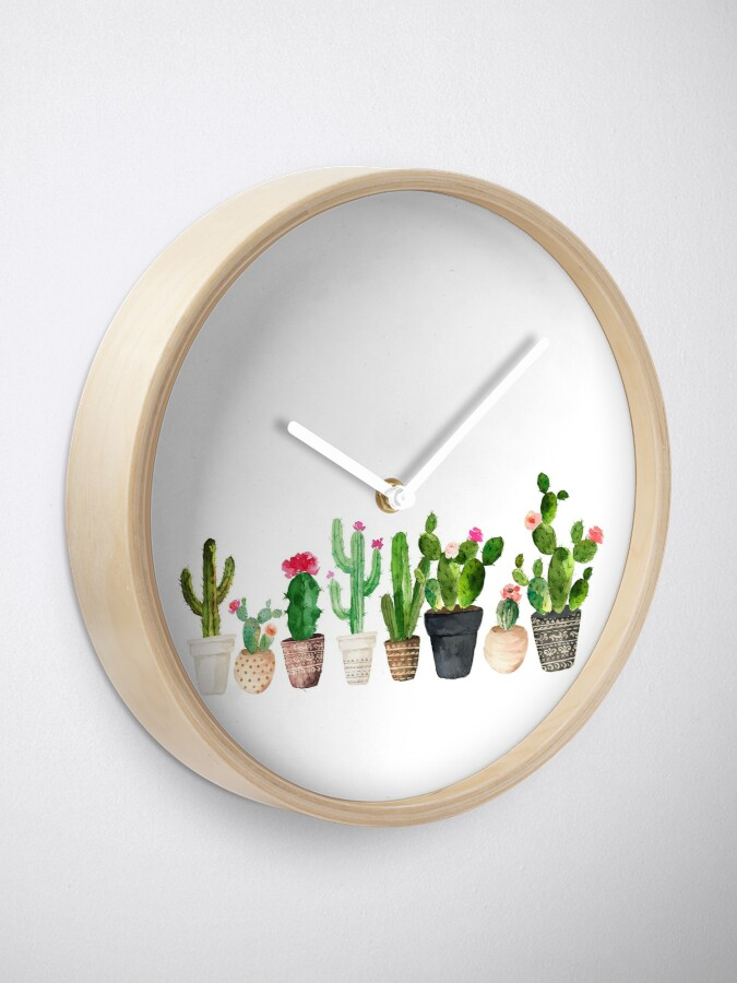 Alternate view of Cactus Clock