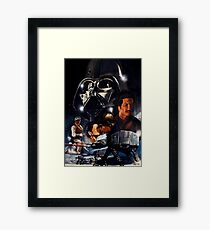 EMPIRE STRIKES BACK Framed Print