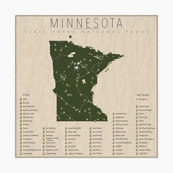 Minnesota Parks Photographic Print